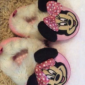 Disney Minnie Mouse children's house shoes